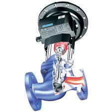 Robinet de reglare actionat electric sau pneumatic - STEVI BR 470 /422 - Ventil parabolic sau cilindric cu perforatii