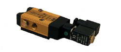 Ventil electromagnetic de comanda 3/2 sau 5/2 cai